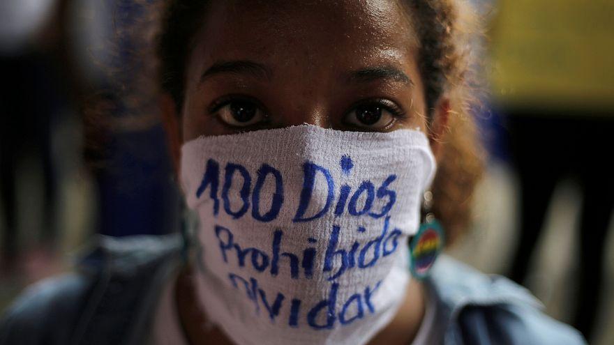 Cem dias de protestos na Nicarágua
