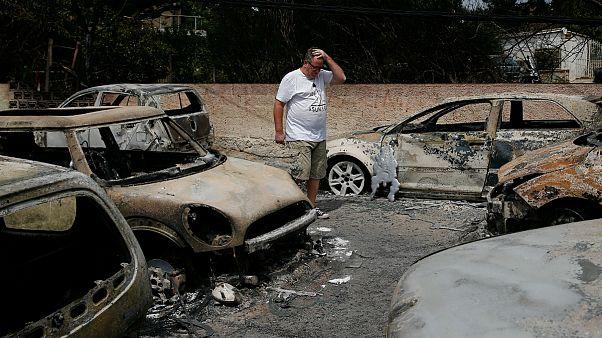 آتش سوزی مرگبار یونان احتمالا «منشاء عمدی» داشت