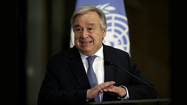 الامين العام للامم المتحدة انطونيو غوتيريس - رويترز