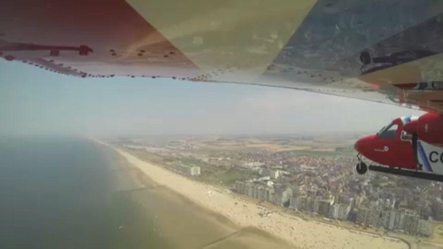 """Aviões """"farejadores"""" monitorizam poluição no mar do Norte"""