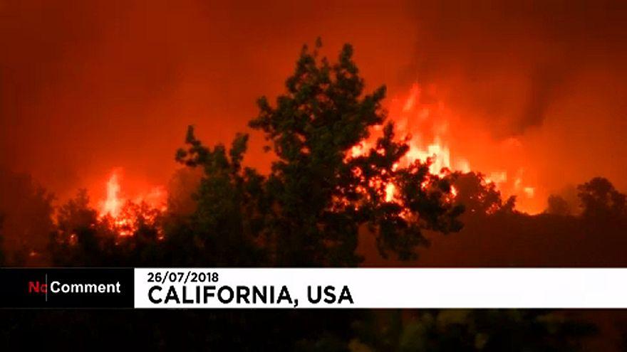 Пожары в Калифорнии