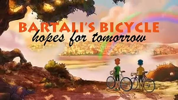 A história de Gino Bartali é um filme de animação