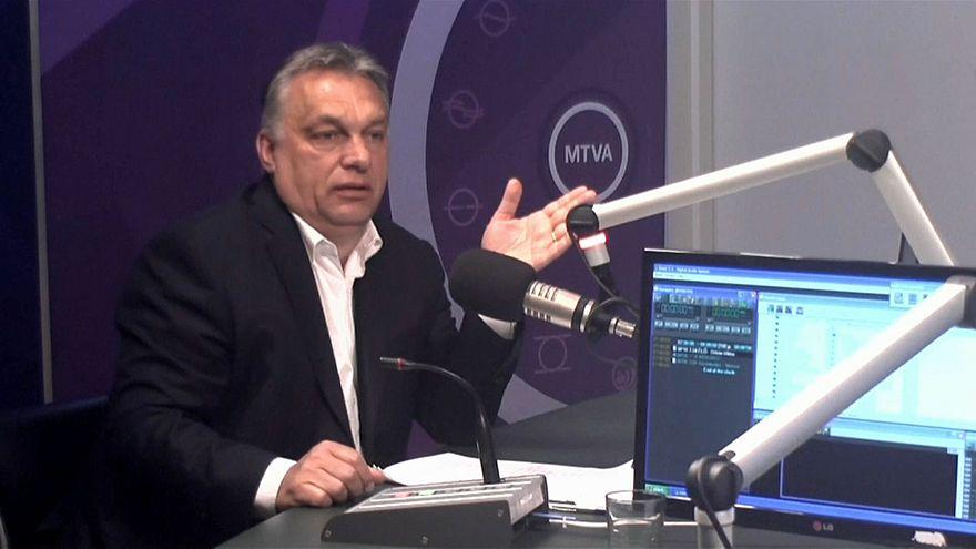 Viktor Orbán ataca política migratória da Comissão Europeia