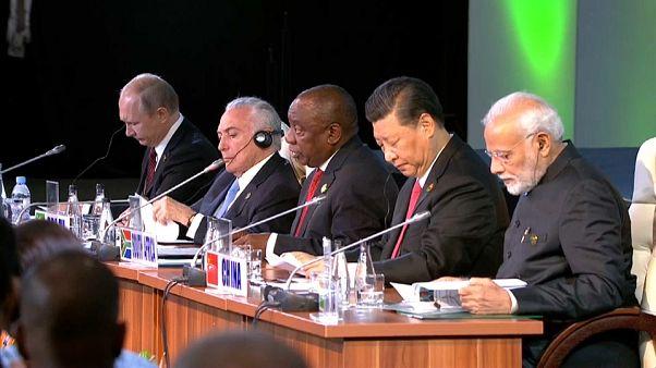 BRICS-Staaten wollen ihre Zusammenarbeit verstärken