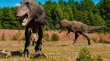 بالفيديو: الديناصورات عادت إلى أوروبا من البوابة البريطانية
