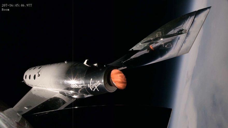 Virgin veut gagner la course au tourisme spatial