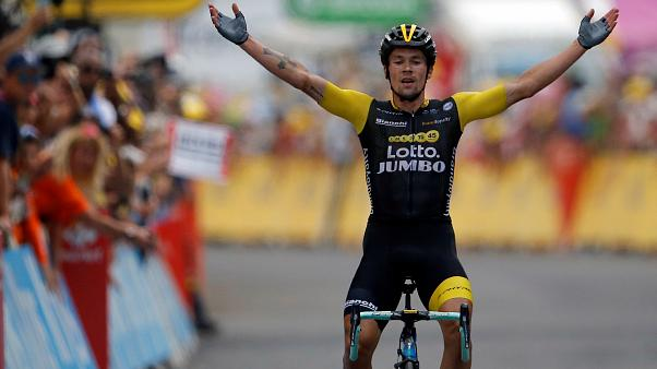 Tour De France Primoz Roglic Wins Stage 19 Euronews