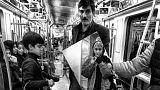 دختری که با عکسهایش از مترو حال و هوای تهران را روایت میکند