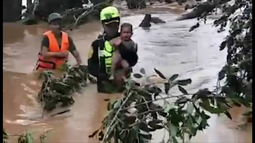 Rescue team that saved Thai footballers helps survivors of Laos dam collapse