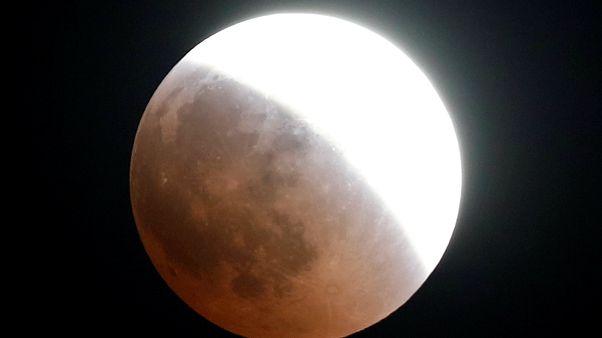 La moitié de la planète admire l'éclipse lunaire