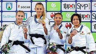 Daria Bilodid reigns supreme at the Zagreb Judo Grand Prix