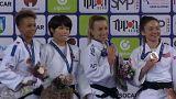 Prima giornata del Grand Prix di Judo a Zagabria. Trionfano Naohisa Takato e Daria Bilodid