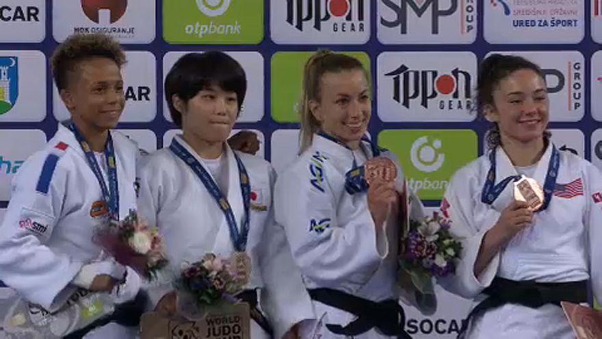 Гран-при в Загребе: победа Наохисы Такато и триумф юной украинки Дарьи Белодед