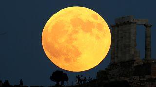 10 Fotos vom Blutmond während der Mondfinsternis