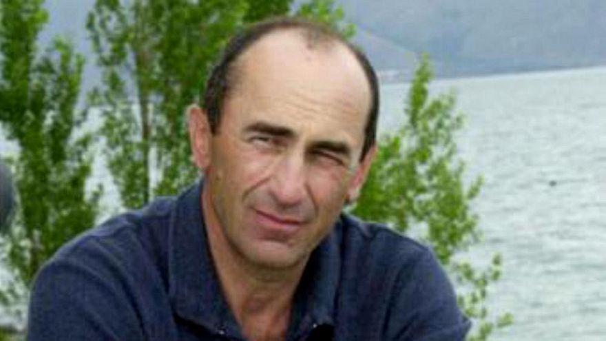 Ermenistan'ın ikinci Cumhurbaşkanı Koçaryan tutuklandı
