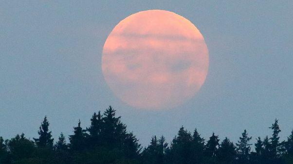 Beobachter von Mondfinsternis begeistert - wo es nicht zu bewölkt war...