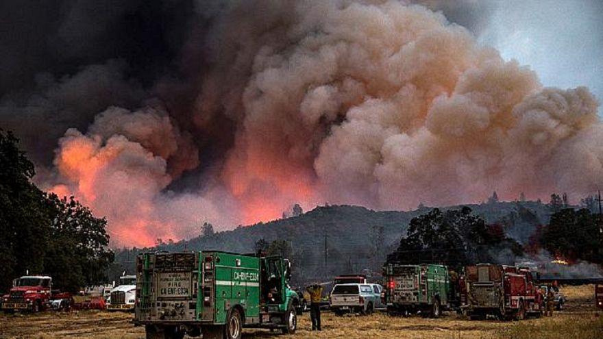 """ارتفاع عدد قتلى حريق """"شيطان تسمانيا"""" في كاليفورنيا"""