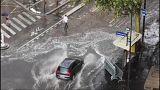 شاهد: طقس متقلب يعصف بشمال وغرب أوروبا