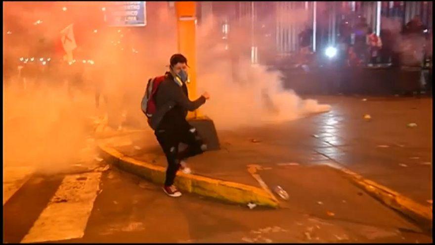 A korrupció ellen tiltakoztak Peruban