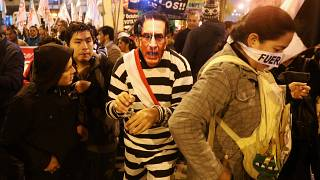 Peru corruption protests