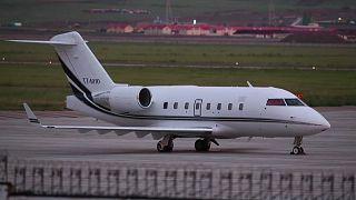 Avião com professor turco raptado na Mongólia impedido de descolar