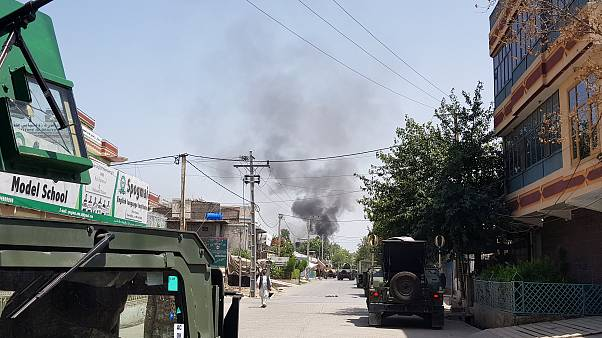 Explosions rock Afghan city of Jalalabad
