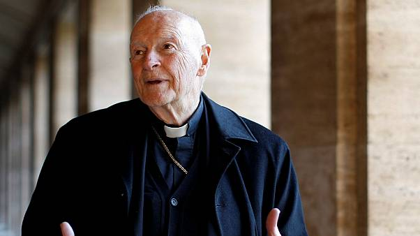 Former U.S. archbishop resigns from College of Cardinals amid sex abuse scandal