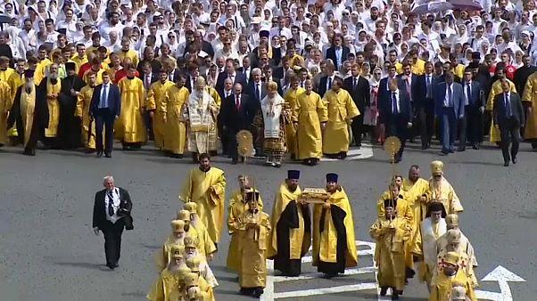روسيا تحيي الذكرى الثلاثين بعد الألف على دخولها المسيحية