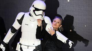 Carrie Fisher, Prenses Leia karakterini ilk 1977 yılında canlandırmıştı
