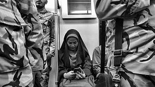 Meet the teenager telling the story of Tehran through its metro
