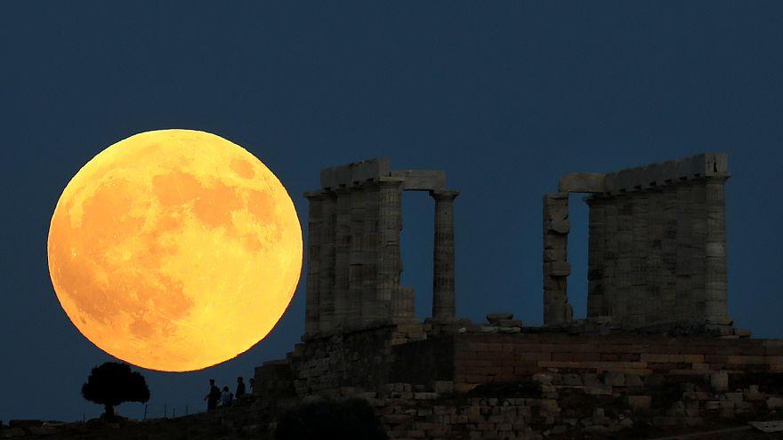 Kanlı Ay tutulması izleyenleri hayran bıraktı