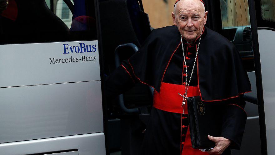 El cardenal McCarrick apartado de sus funciones