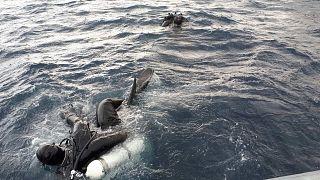 Συνεχίζονται οι υποβρύχιες έρευνες του Λιμενικού για αγνοούμενους