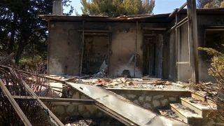 Número de vítimas dos incêndios na Grécia subiu para 88