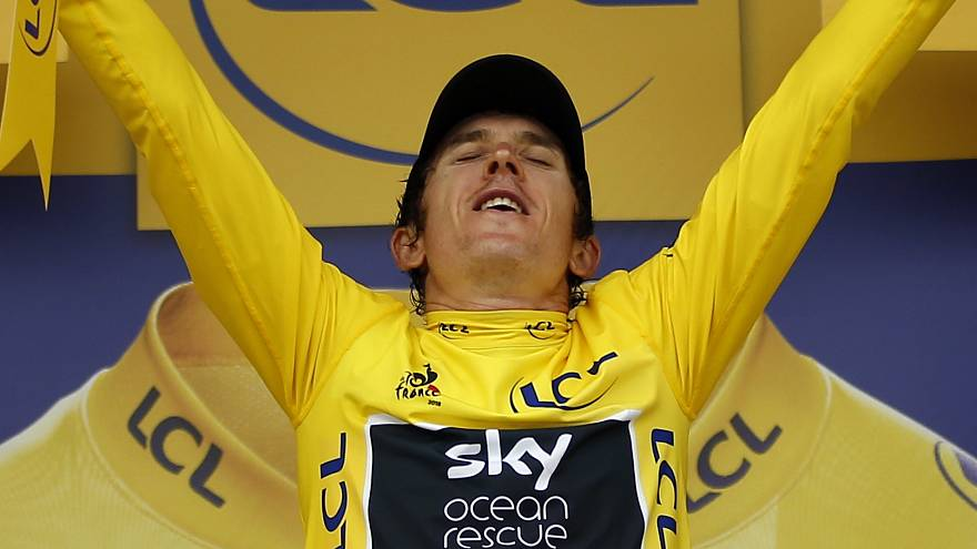 Geraint Thomas vor Toursieg