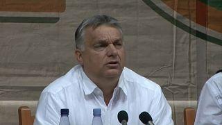 Nouvelle diatribe de Viktor Orban contre l'Europe