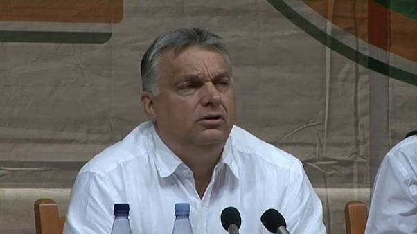 Hungary's PM Viktor Orban attacks the EU