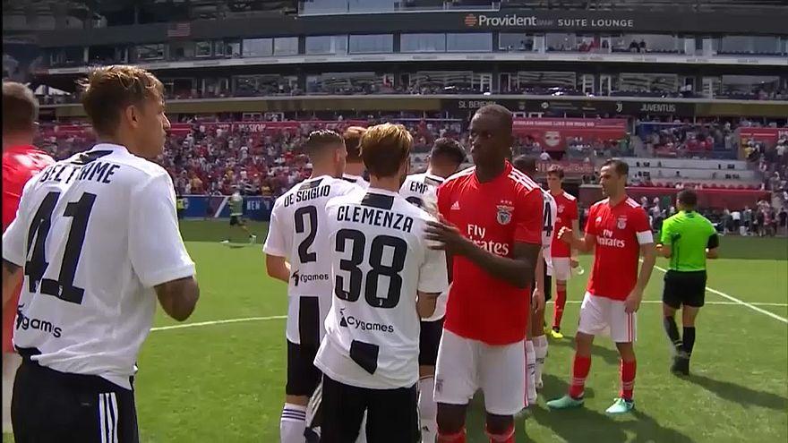 Benfica empata em teste com a Juventus... ainda sem Ronaldo