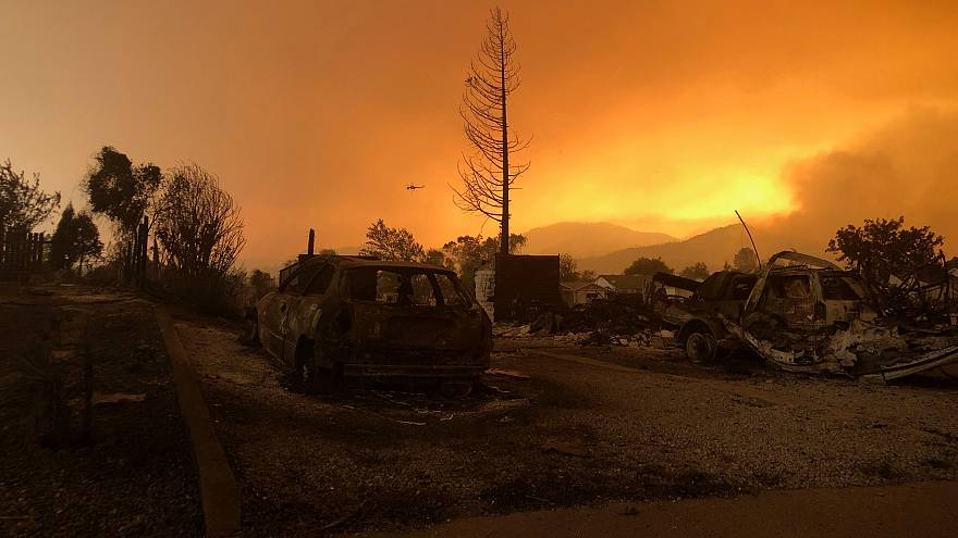 Ya son cinco las personas que fallecen a causa del incendio de California