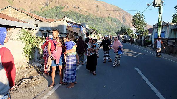 Earthquake hits Indonesia tourist island- killing 14