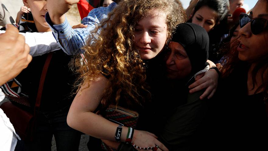 Israel releases Palestinian teenager who struck soldier