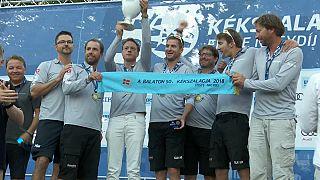 Swiss catamaran wins Blue Ribbon Regatta in Hungary for second time