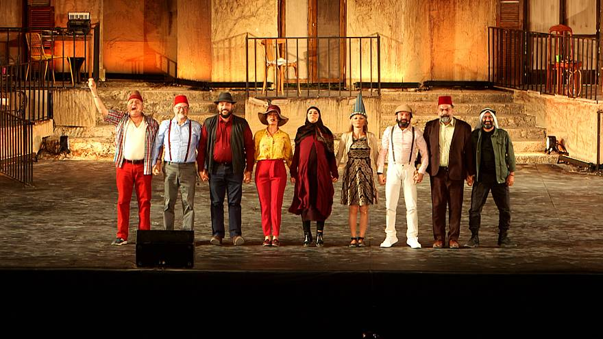 Lebanese comedian Georges Khabbaz sends message of unity at Baalbeck International Festival