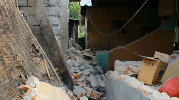 Al menos catorce muertos en el terremoto registrado en Lombok