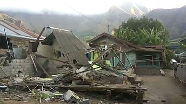 Erdbeben erschüttert Urlauberinsel Lombok