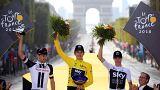 Tour de France : Geraint Thomas triomphe à Paris