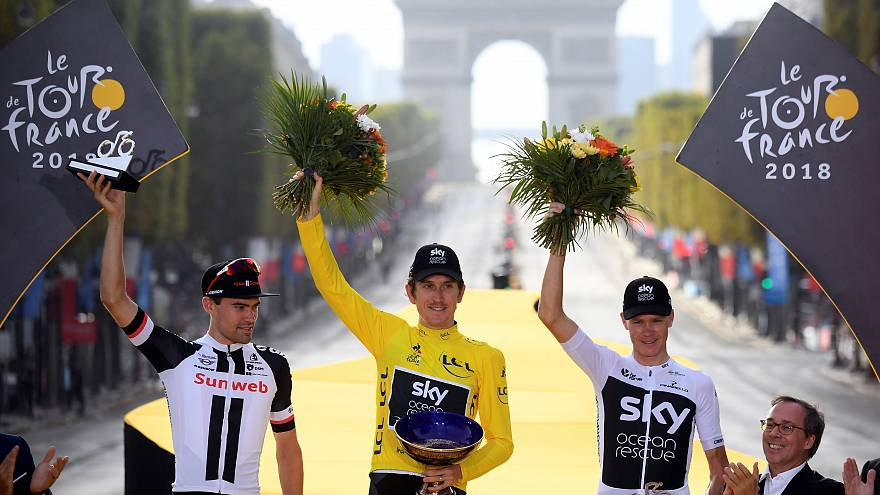 Tour de France : Geraint Thomas triomphe à Paris