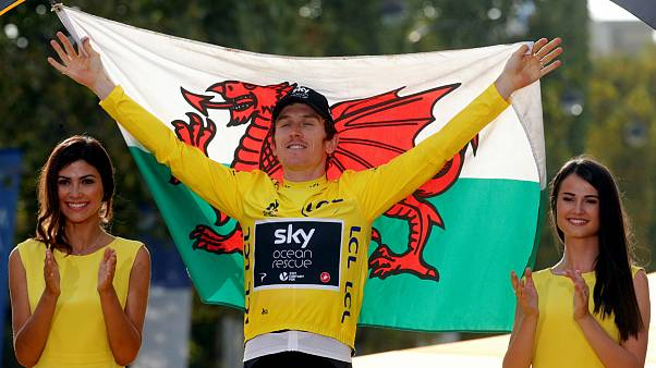 Geraint Thomas é o primeiro galês a vencer o Tour