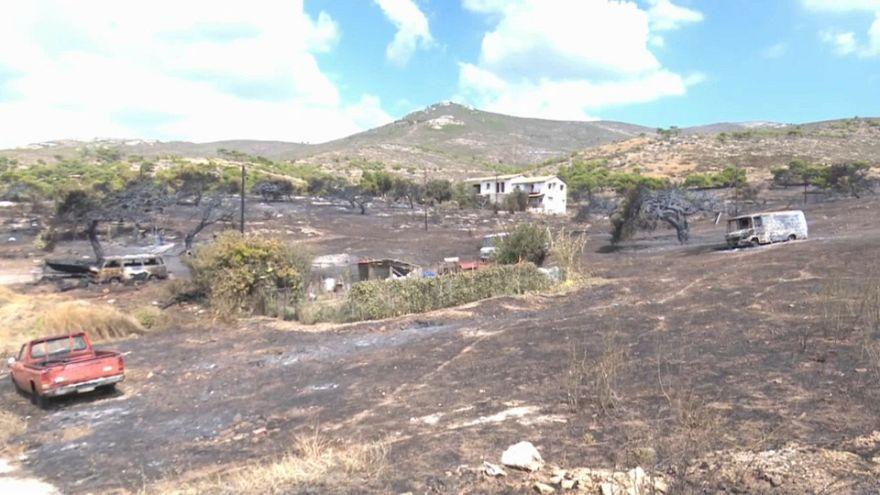 Grecia: roghi dolosi, la testimonianza di un sopravvissuto