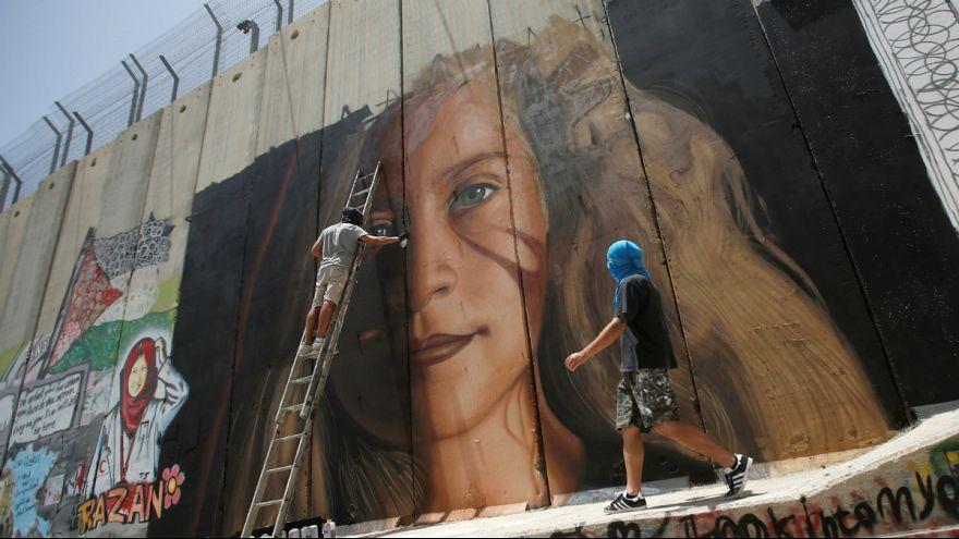 ویدئوی بازداشت دیوارنگار ایتالیایی از سوی ارتش اسرائیل